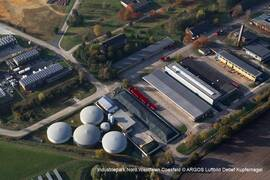 Biogasanlage im Industriepark Nord.Westfalen