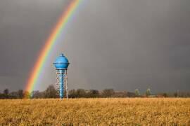 Historischer Ahlener Wasserturm